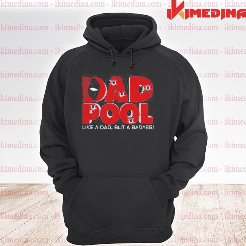 Official dad superhero pool parody dad birthday gift 2021 shirts premium hoodie