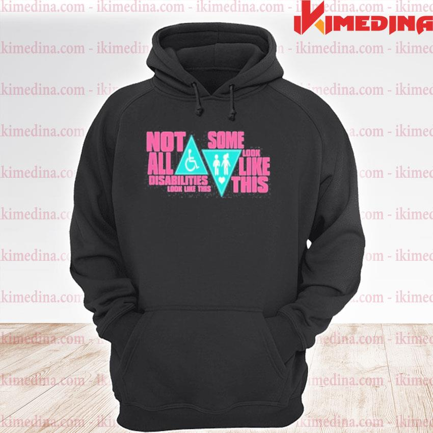 Official disability doesn't look like this colostomy awareness 2020 t s premium hoodie