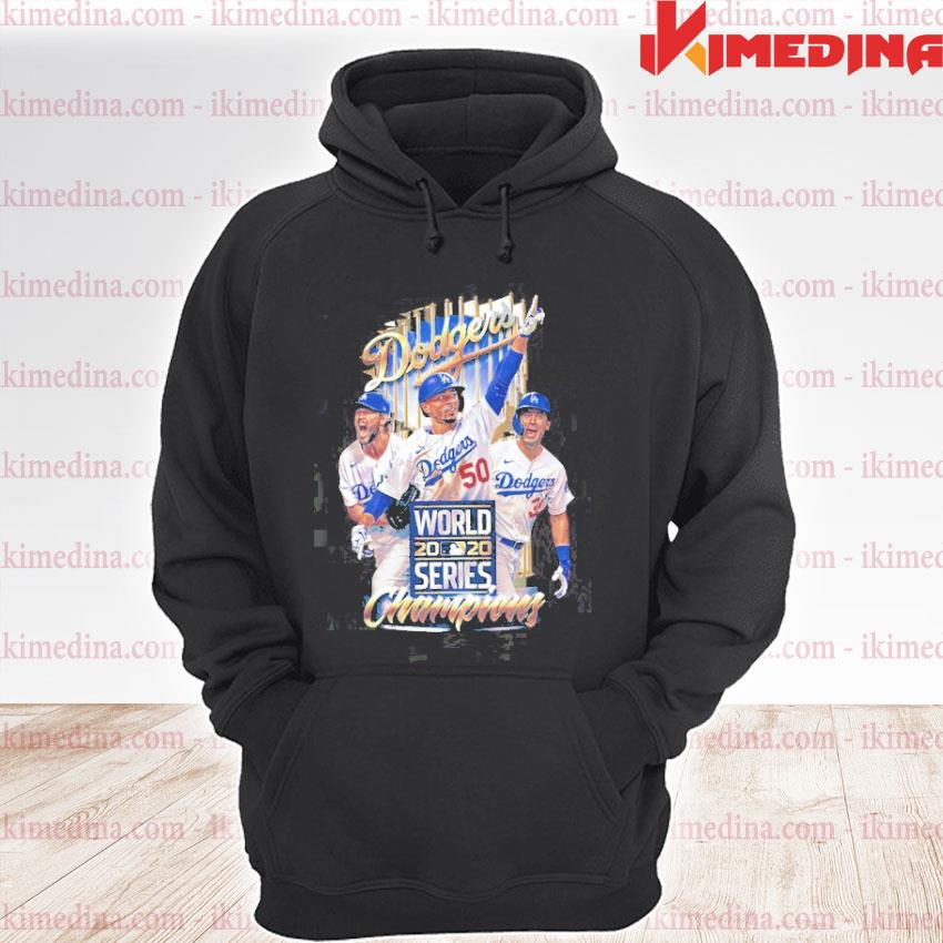 Official dodgers world 2020 series champions s premium hoodie