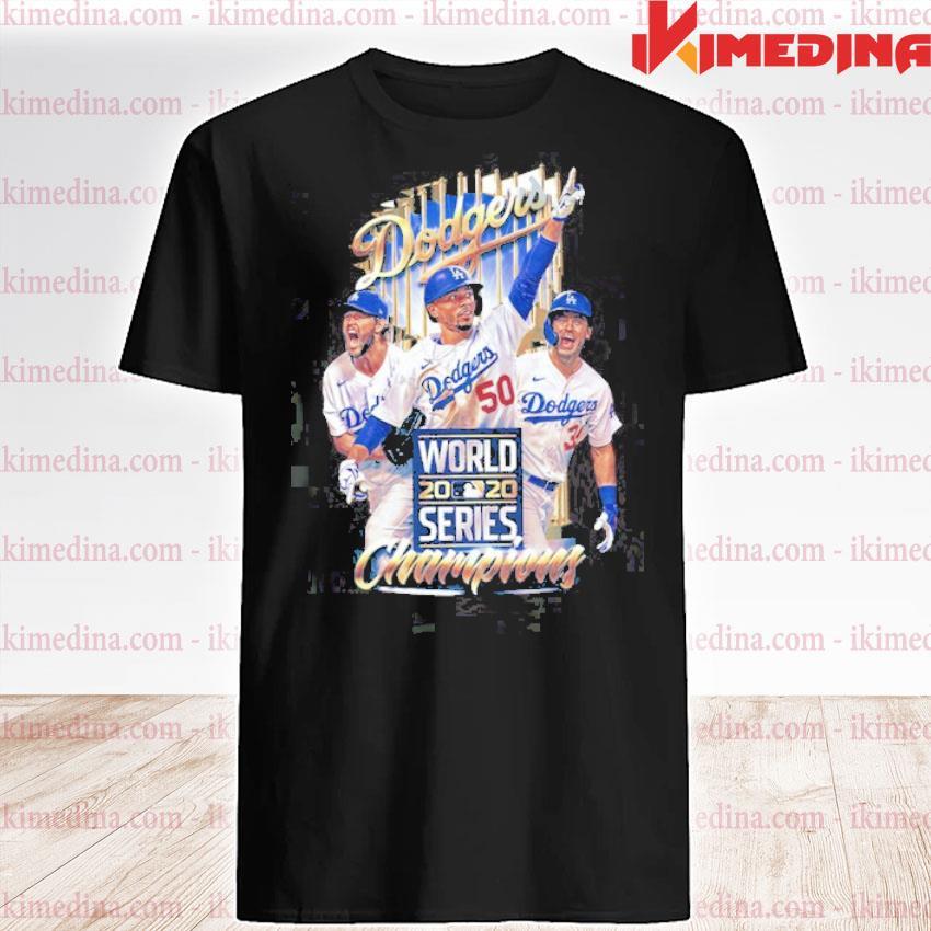 Official dodgers world 2020 series champions shirt