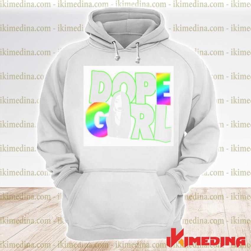 Official dope girl s premium hoodie