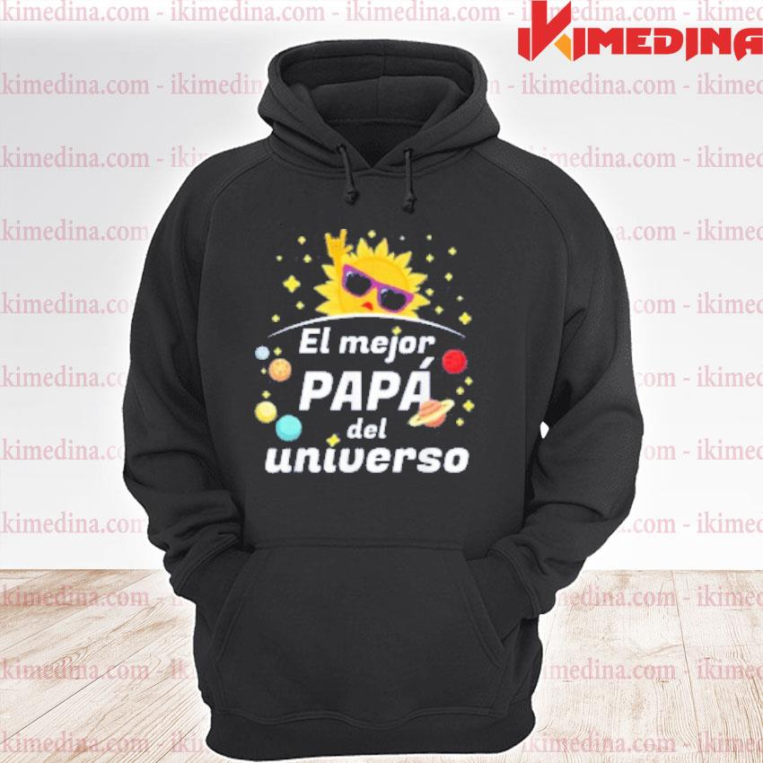 Official el mejor papa del universo 2020 father's day s premium hoodie