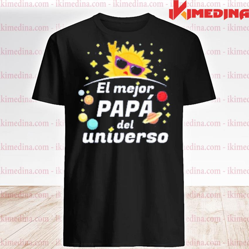 Official el mejor papa del universo 2020 father's day shirt
