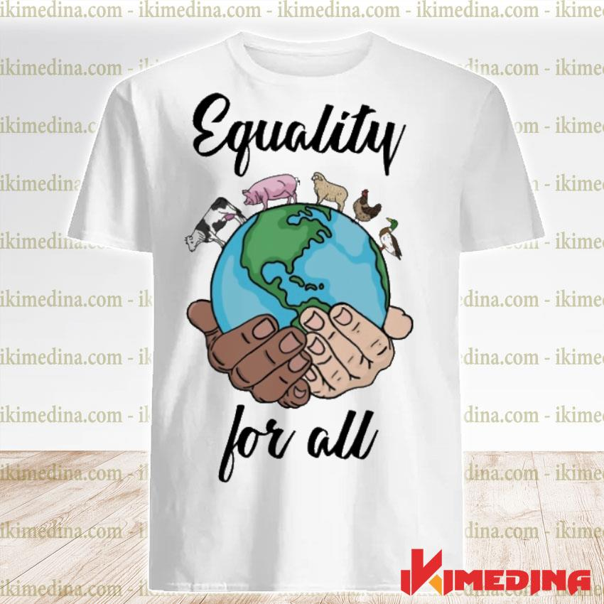 Official equality for all shirt