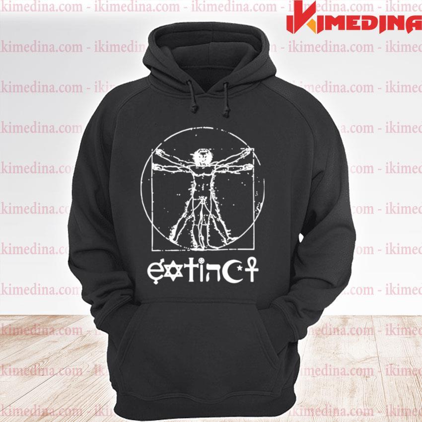 Official extinct ventruvian s premium hoodie