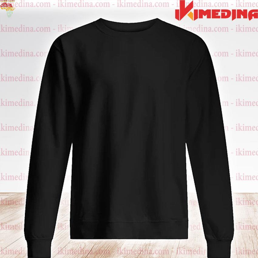 Official february faith trust hope black confident s premium sweater