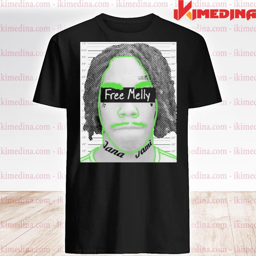 Official free melly shirt