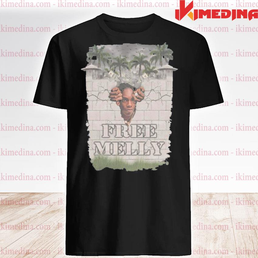 Official free melly wall shirt