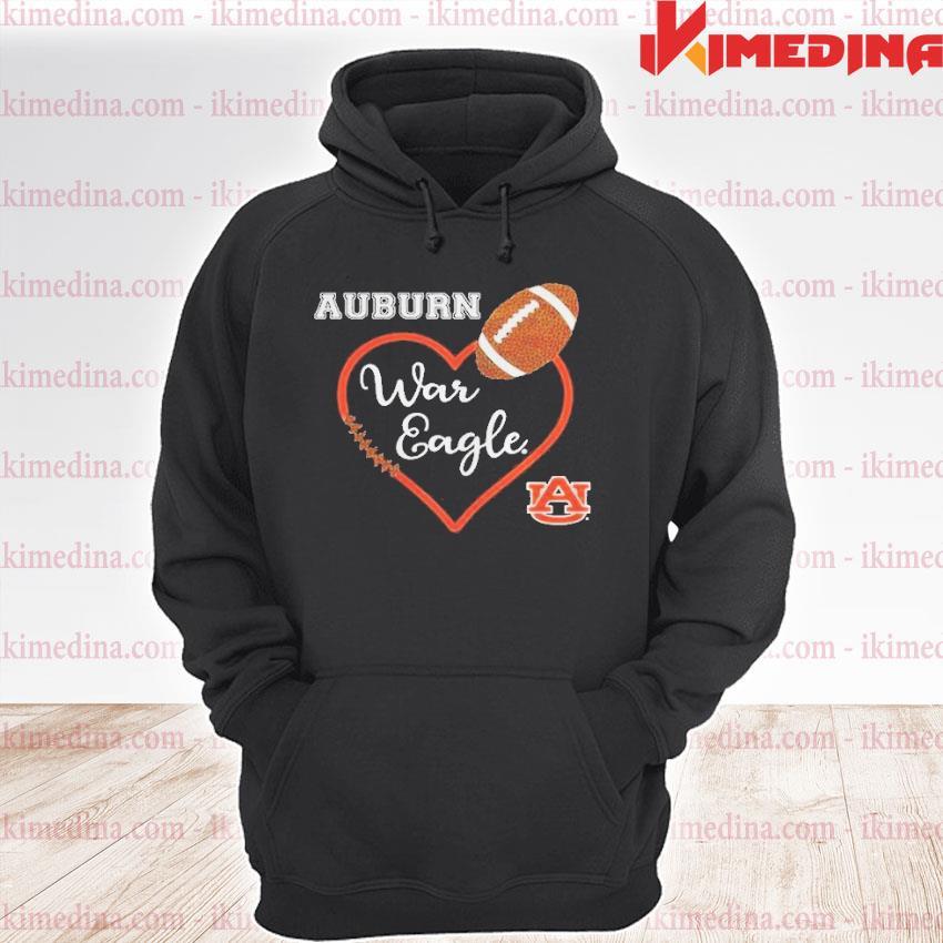 Official heat auburn war eagle auburn university s premium hoodie