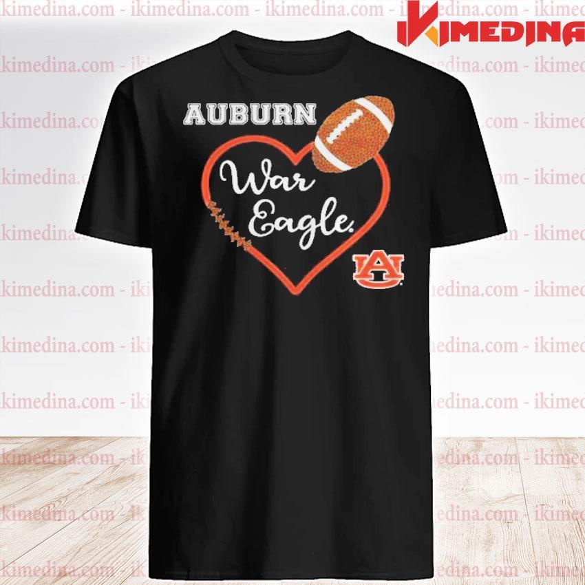 Official heat auburn war eagle auburn university shirt