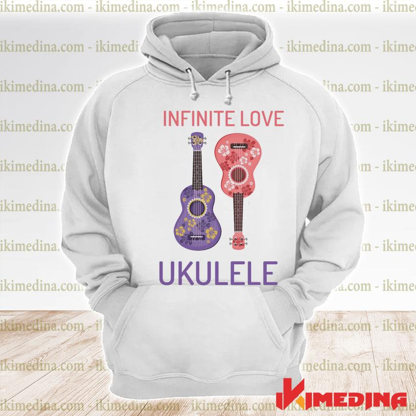 Official infinite love ukulele s premium hoodie