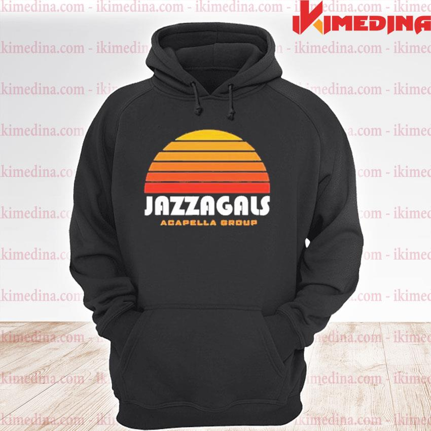 Official jazzagals acapella group s premium hoodie