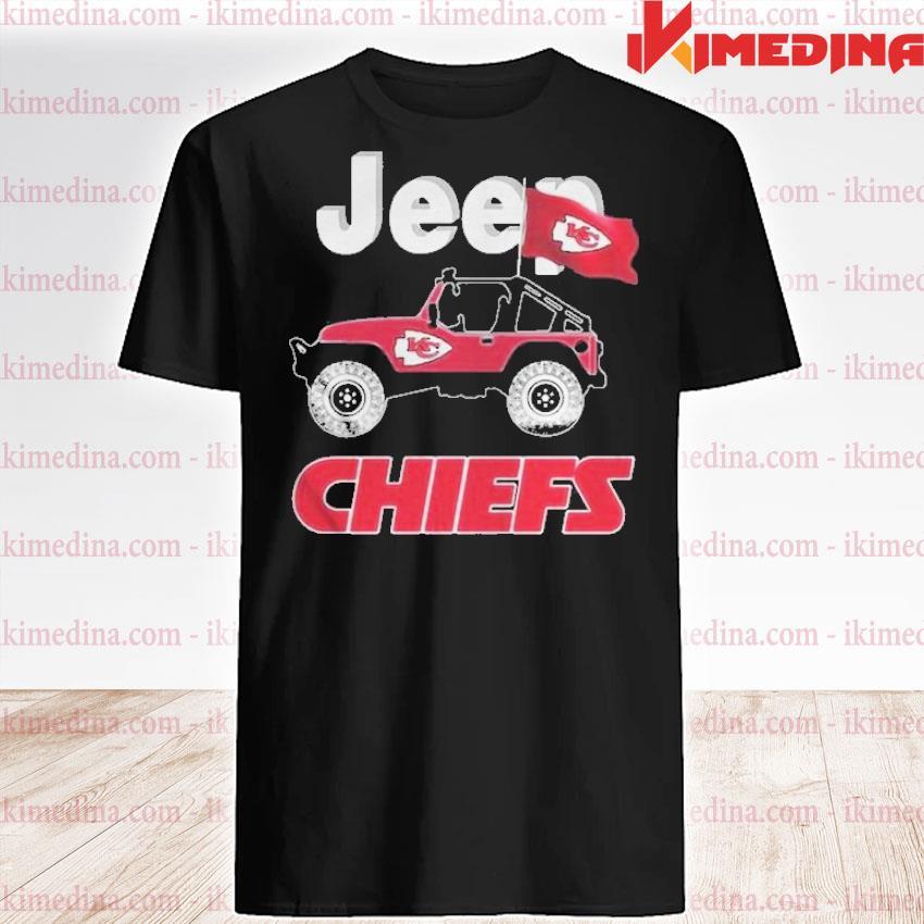 Official jeep kansas city chiefs fan shirt