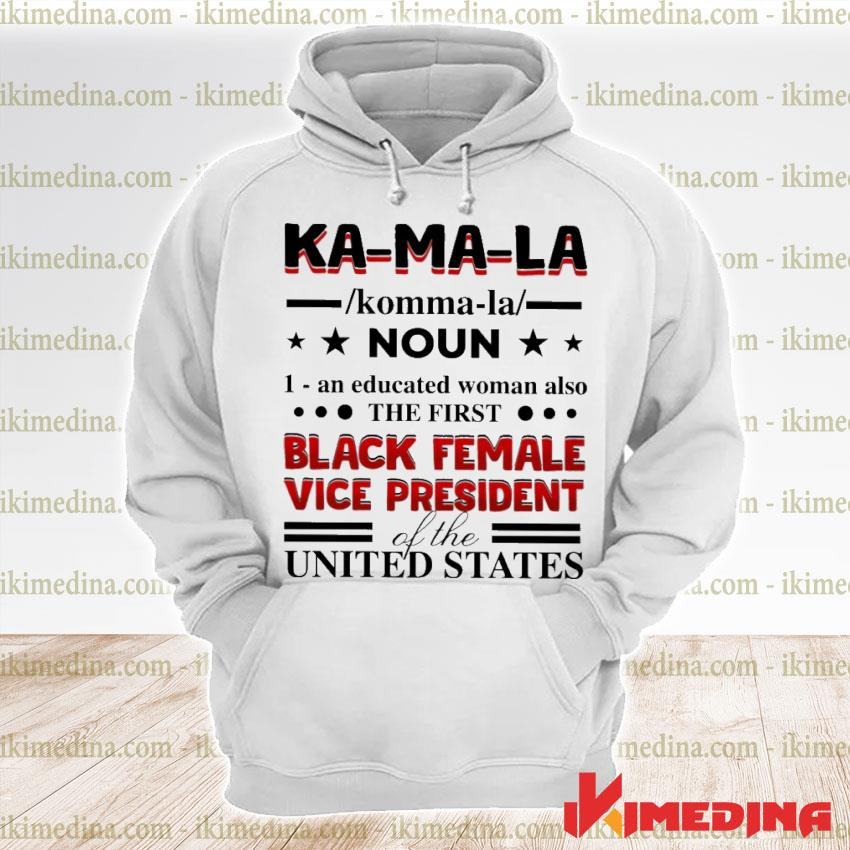 Official kamala harris 2020 definition madame vice president of us s premium hoodie