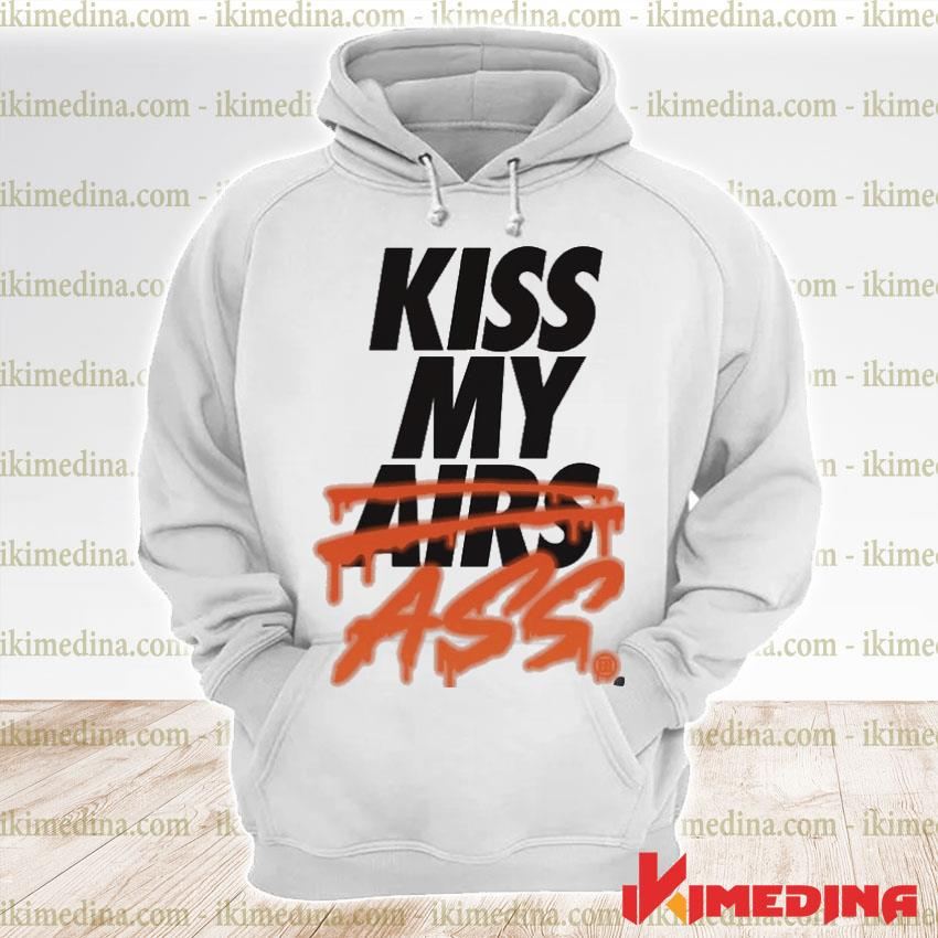 Official kiss my airs ass s premium hoodie