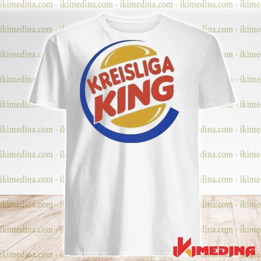 Official kreisliga king logo shirt