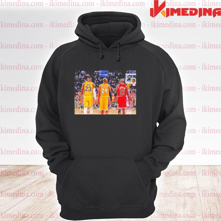 Official lebron james and bryant and jordan friends 2021 s premium hoodie