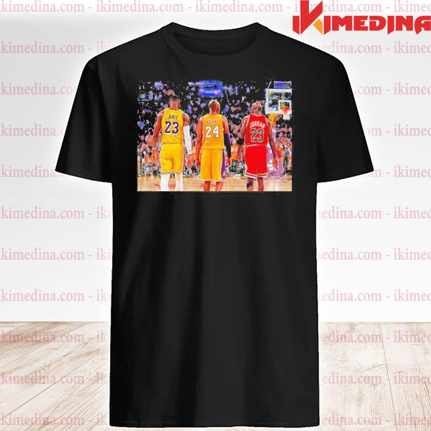 Official lebron james and bryant and jordan friends 2021 shirt