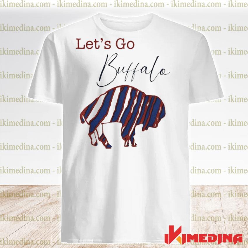 Official let's go buffalo bills 2021 shirt