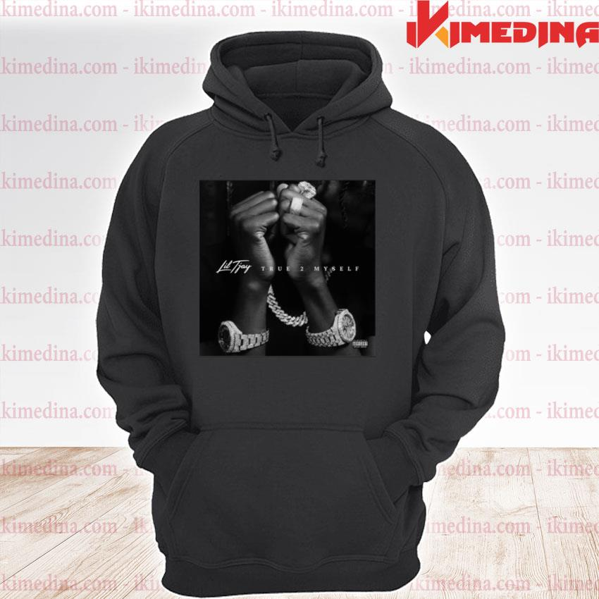 Official lil tjay merch lil tjay album cover s premium hoodie