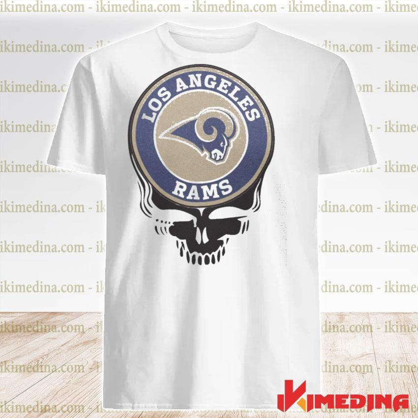 Official los angeles rams football skull shirt