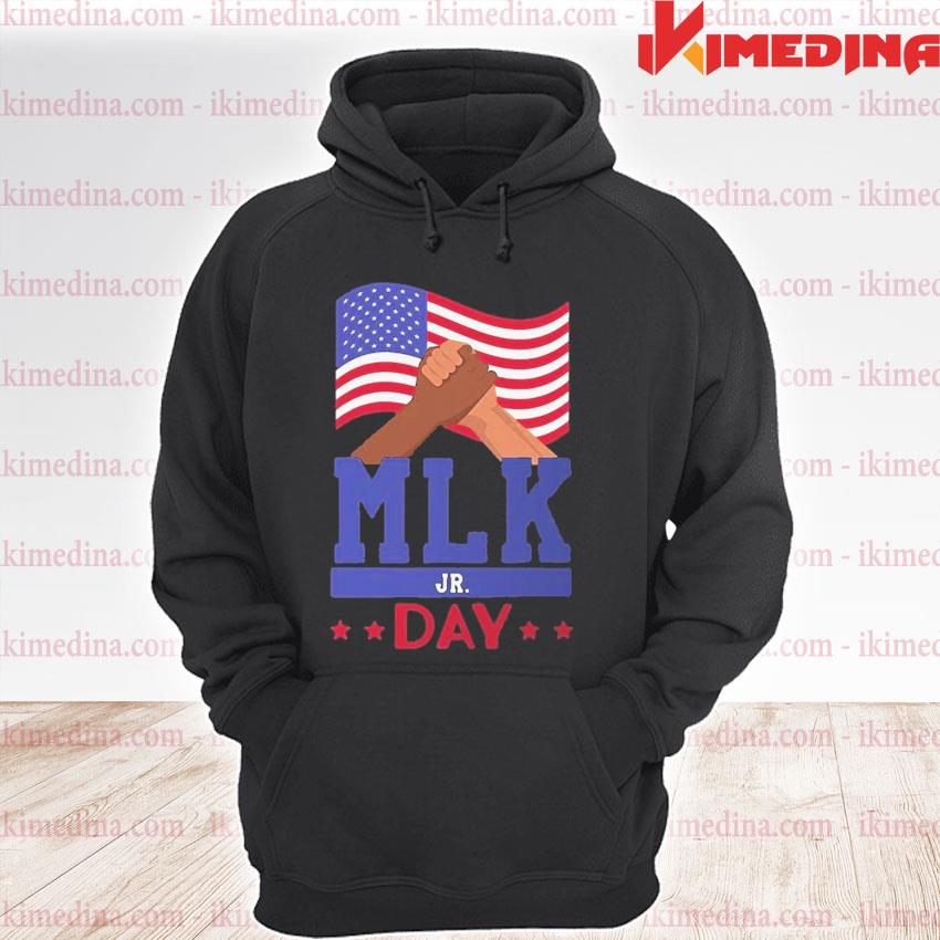 Official martin luther king jr day mlk fist freedom s premium hoodie