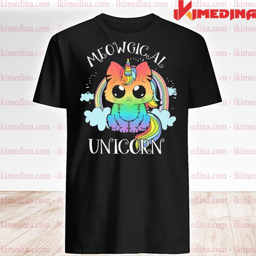 Official meowgical unicorn shirt