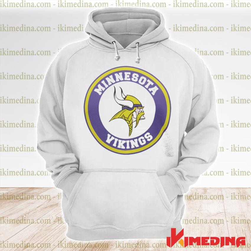 Official minnesota vikings logo s premium hoodie