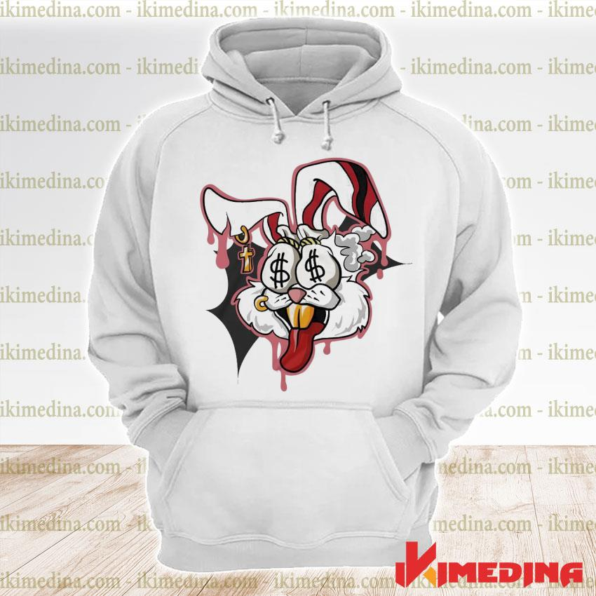 Official money motive bunny s premium hoodie