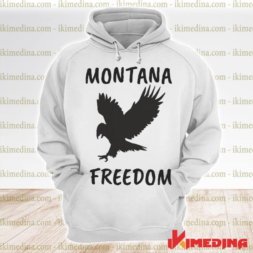 Official montana freedom s premium hoodie