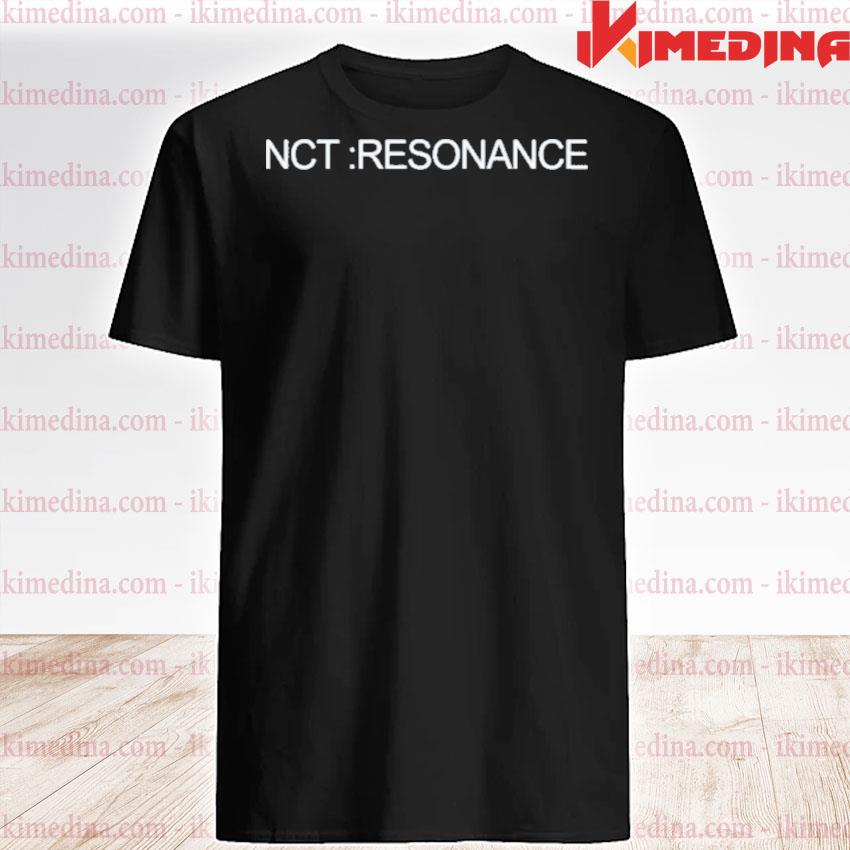 Official nct resonance shirt