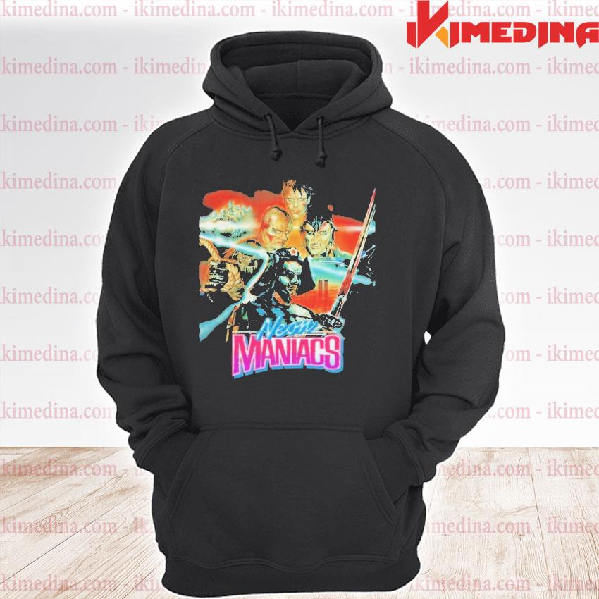 Official neon maniacs s premium hoodie