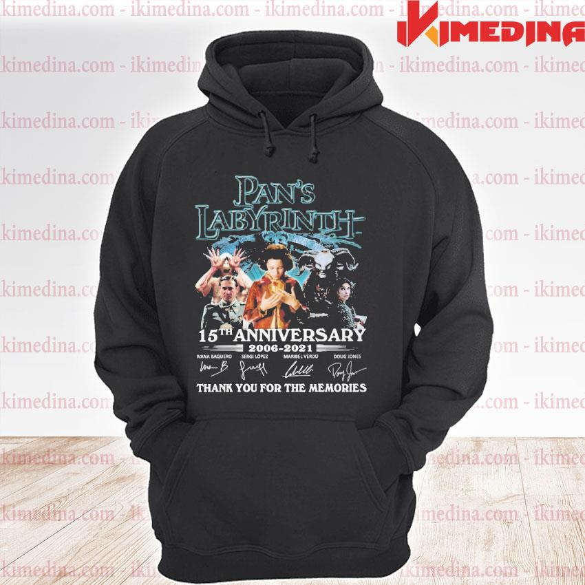 Official pan's labyrinth 15th anniversary 2006 2021 thank you for the memories s premium hoodie
