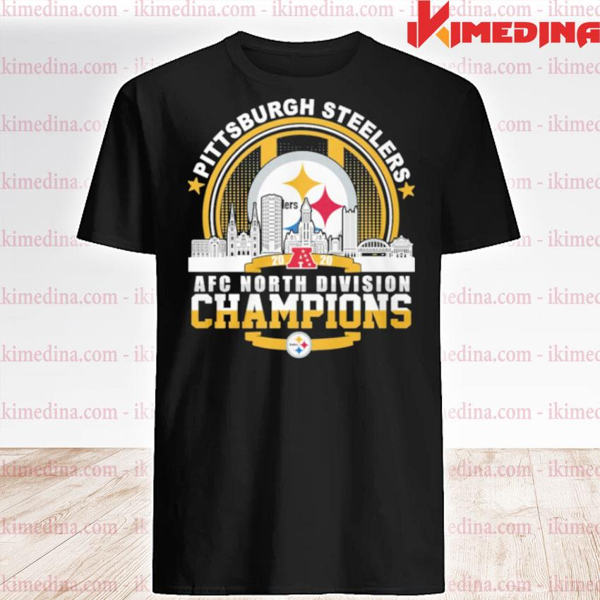 Official pittsburgh steelers 2020 nfc south division champion shirt