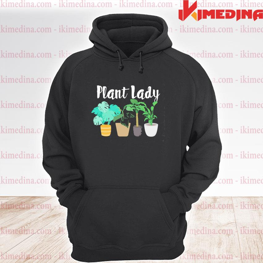 Official plant lady s premium hoodie
