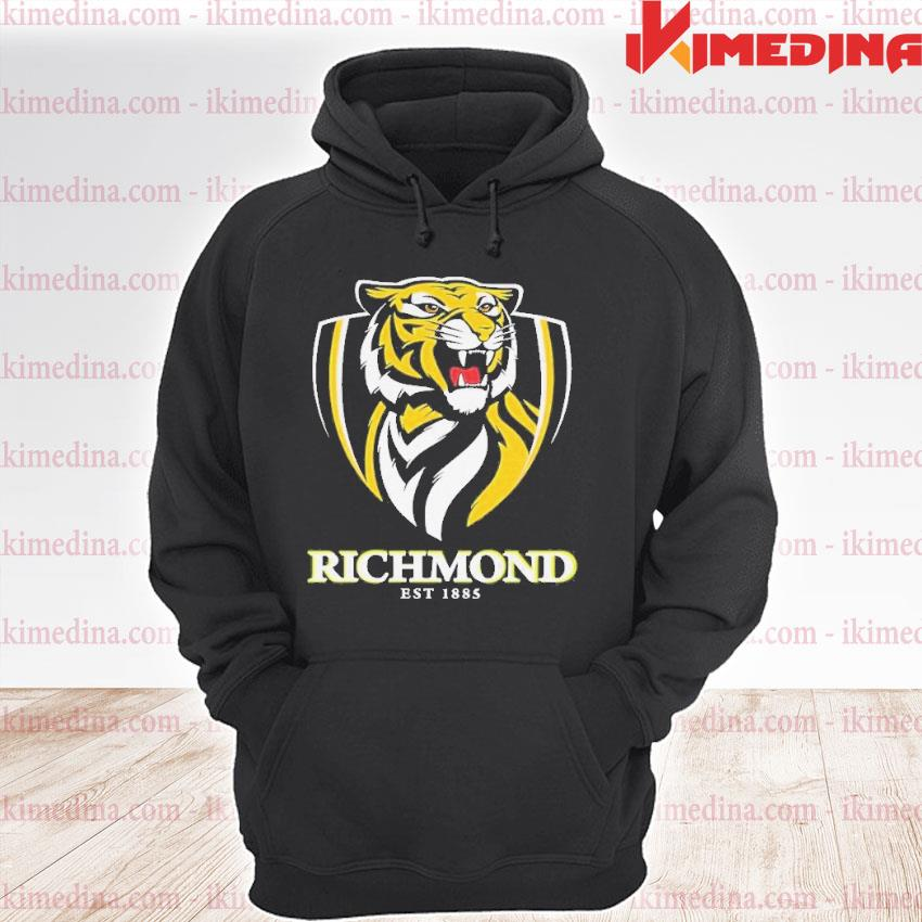 Official richmond football club afl by a shell s premium hoodie