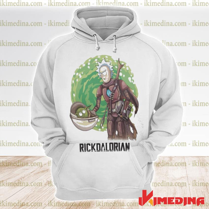 Official rick and morty the rickdalorian s premium hoodie