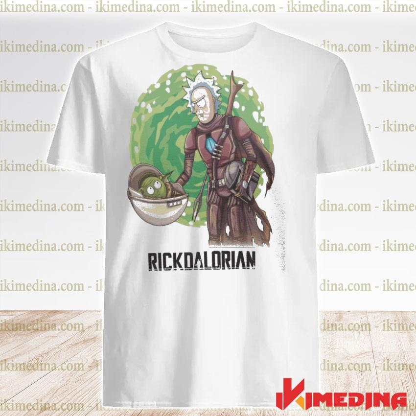 Official rick and morty the rickdalorian shirt