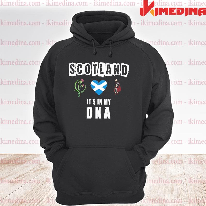 Official scotland it's in my dna s premium hoodie