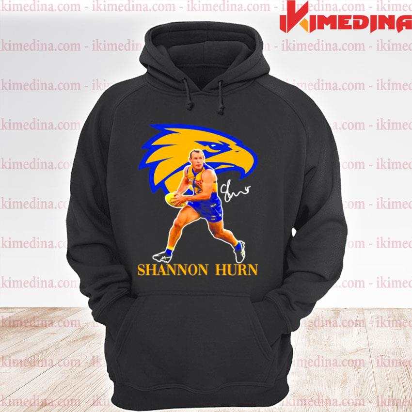 Official shannon hurn player of team philadelphia eagles football signature s premium hoodie