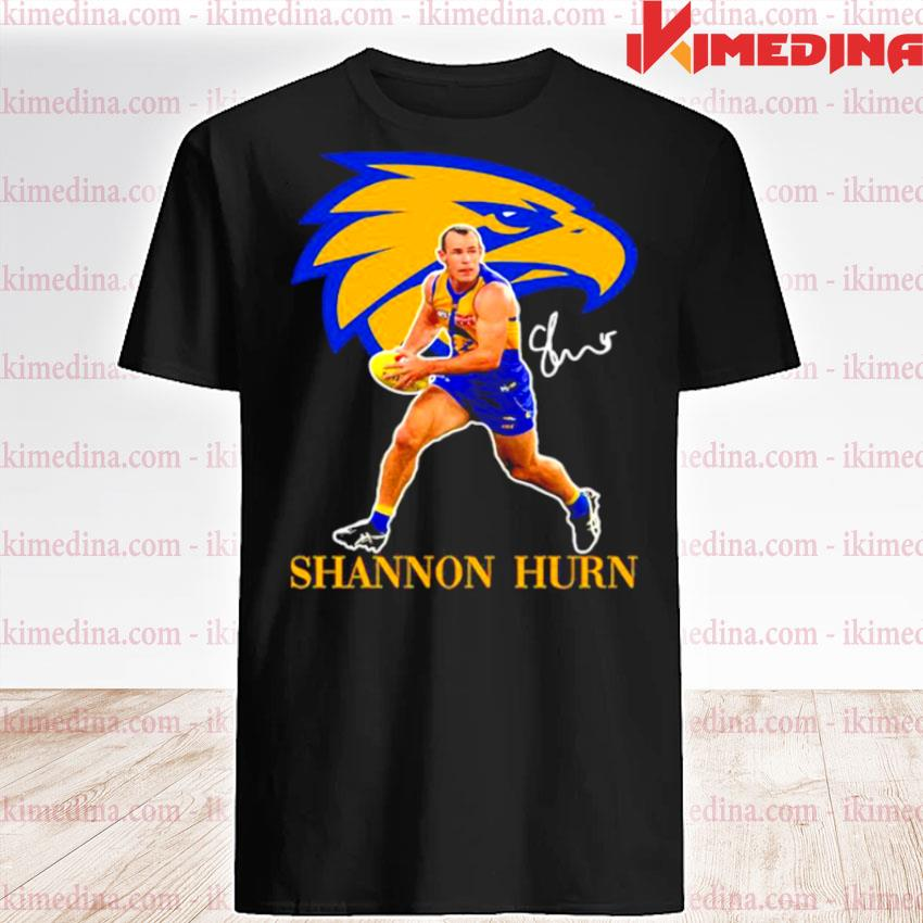 Official shannon hurn player of team philadelphia eagles football signature shirt