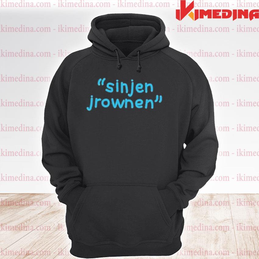 Official sinjin drowning merch sinjen s premium hoodie