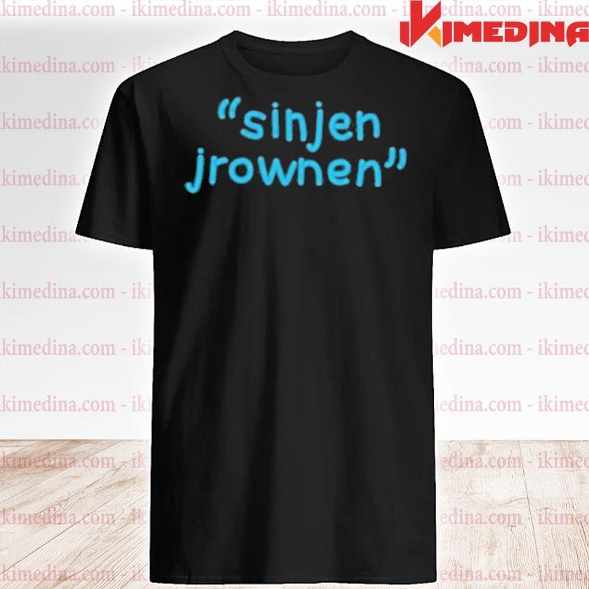 Official sinjin drowning merch sinjen shirt