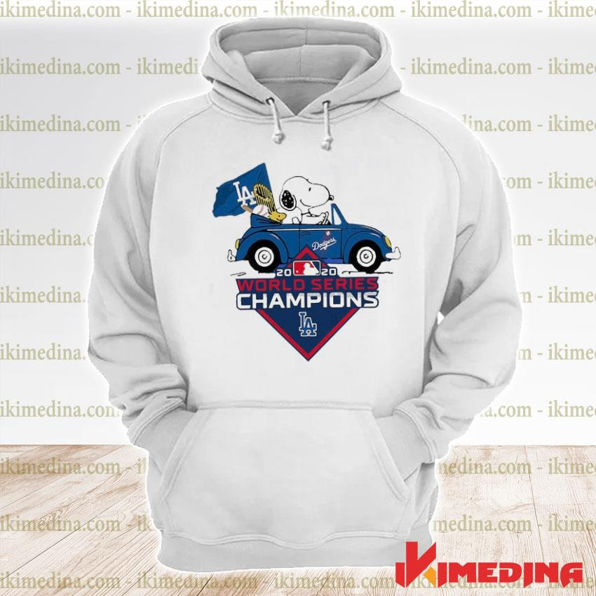 Official snoopy and stokl world series champions 2020 s premium hoodie