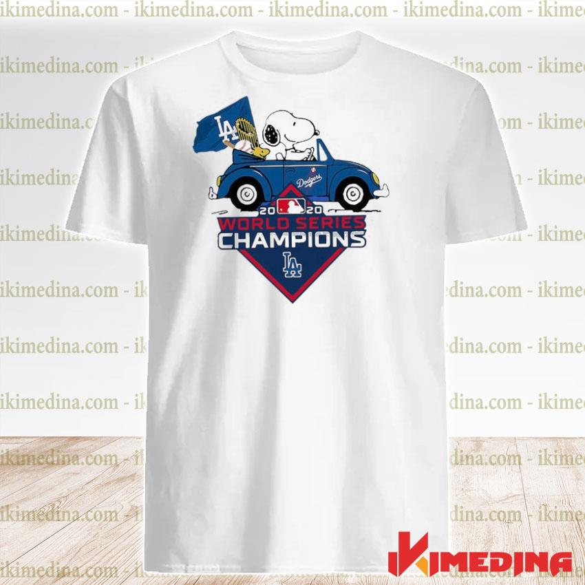 Official snoopy and stokl world series champions 2020 shirt