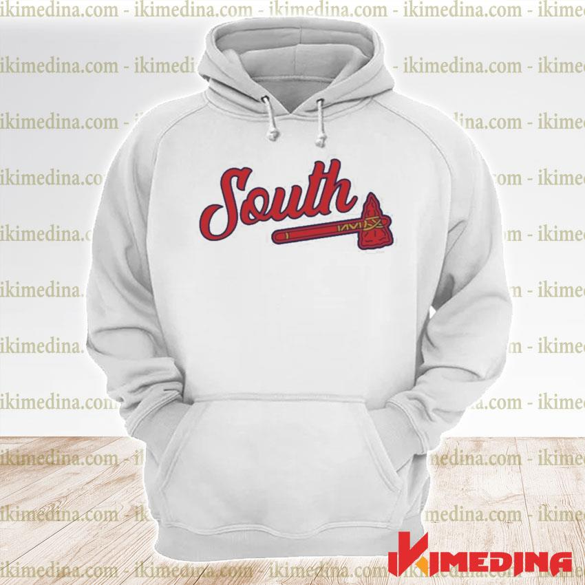 Official south show merch tomahawk s premium hoodie
