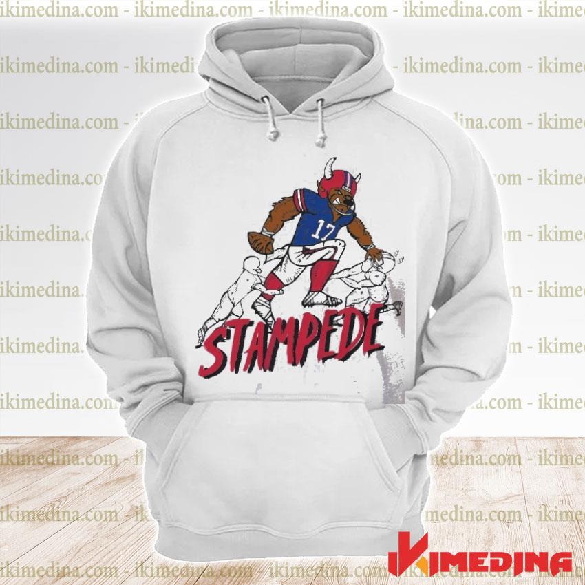 Official stampede 17 buffalo bills football s premium hoodie