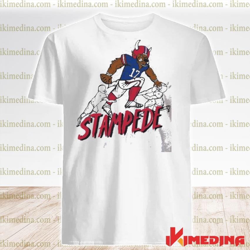 Official stampede 17 buffalo bills football shirt