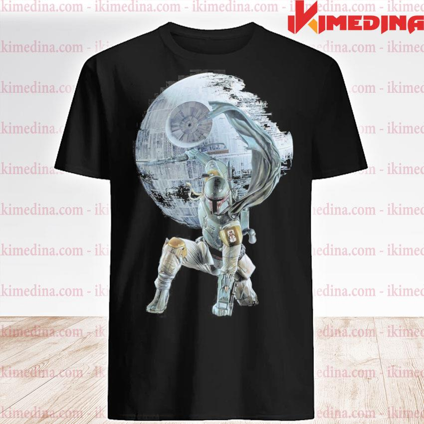Official star wars death star the mandalorian shirt