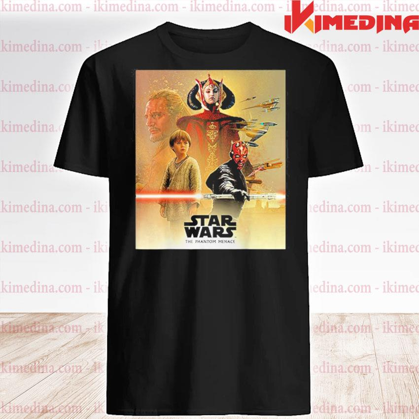 Official star wars the phantom menace 2021 shirt